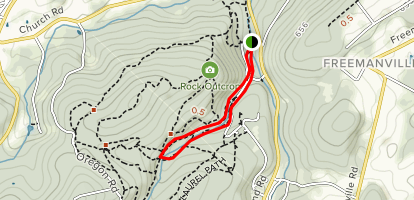 Boulevard Trail to Watershed Trail Loop Map