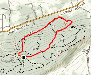 Rocky Ridge 3/8 to 9 to 1 Loop Map