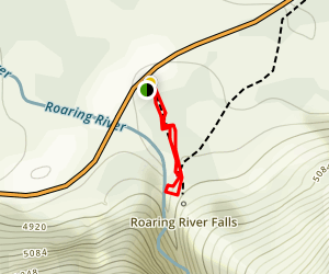 Roaring River Falls Trail Map