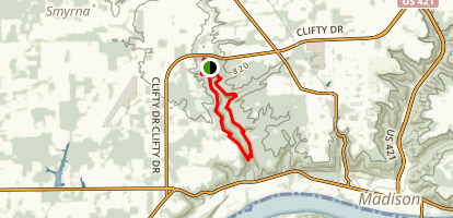 Clifty Falls State Park Loop Trail Map