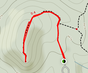 Grouse Mountain Overlook Trail Map