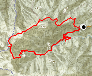 Mount Olympus Loop Map
