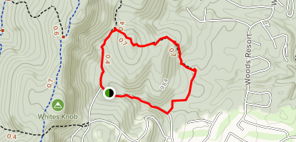 Winter Camp Trail Map