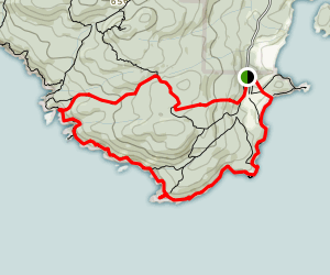 East Sooke Coastal Loop Map