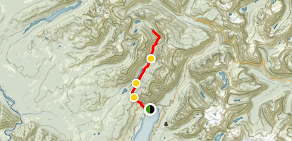 West Lakes Trail  Map