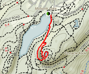 The Labyrinth Trail Map