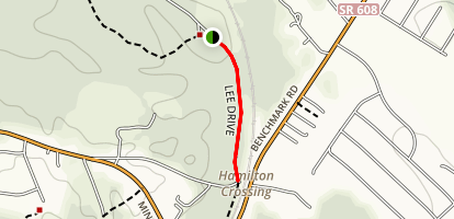 Hamilton's Crossing Trail Map