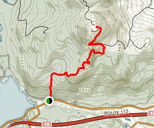 Mont Orford Map