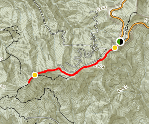 Blackrock Mountain Trail Map