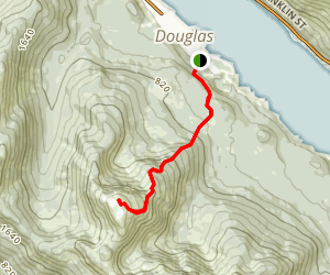 Mount Jumbo (Bradley) Trail Map