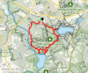 Fairhaven and Andromeda Trail Map