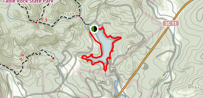 Pinnacle Lake Trail Loop Map