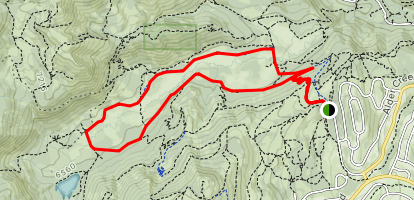 Euer Valley Loop Map