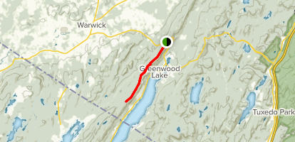 Appalachian Trail: Highway 17A to Bellvale Mountain - New York ...
