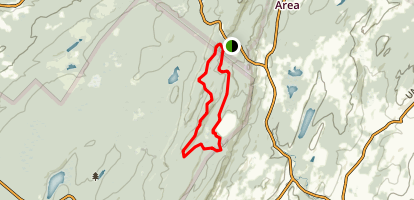 Iris Trail via Appalachian Trail Map