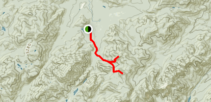 Phelps Mountain and Tabletop Mountain Map