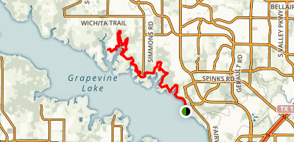 North Shore Trail Map