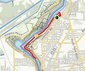 Devil's Hole and Whirlpool Trail Map
