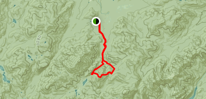 Avalanche Pass Trail to Mount Colden Trail Loop Map