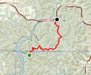North Country Trail: PA 346 to ASP 2 Map