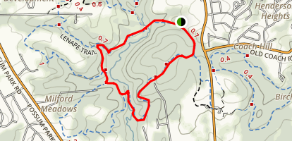 Snow Goose Loop Map