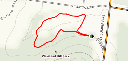 Winstead Hill Park Trail Map