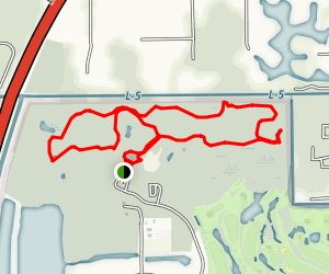 Okeeheelee Nature Center Map