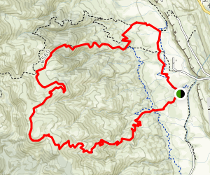 Ginny Trail to Valley Loop Trail Map