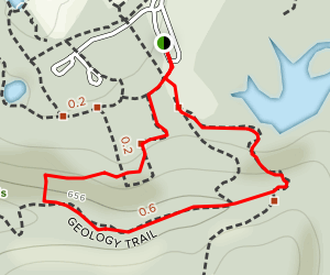 Upland and Geology Trail Loop Map