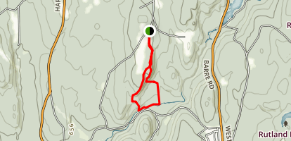 Swift River Reservation Loop Map