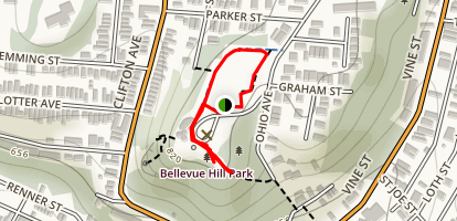 Bellevue Hill Park Map