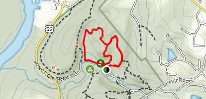Trillium Valley and Moon Trail Loop Map