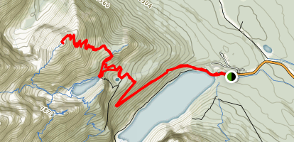 Mount St. Piran Map