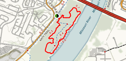 Bangert Island Loop Trail Map