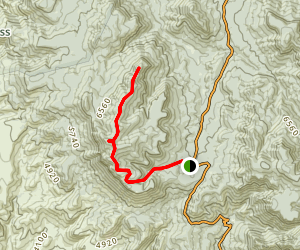 Armer Mountain Trail Map