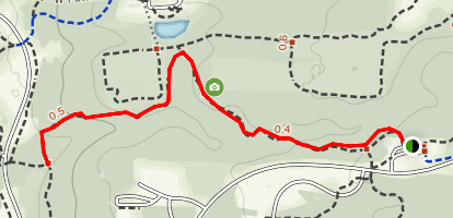 Dripping Rock Trail to Big Meadows Path Map