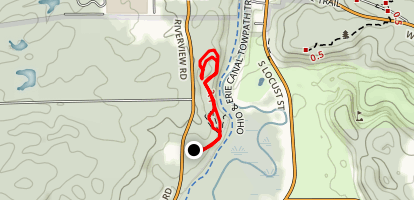 Deep Lock Quarry Trail Map
