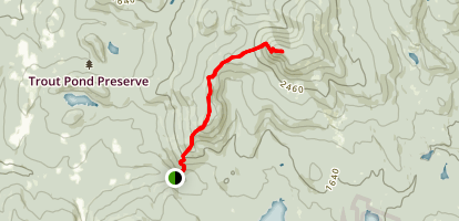 Smarts Mountain via Appalachian Trail Map