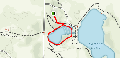 Lake Mary Loop Map