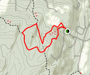 Mosley Hill via Appalachian Trail Loop Map