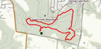 Sugarcreek Green Outer Loop Trail Map