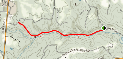 Red Bird Hollow Trail Map