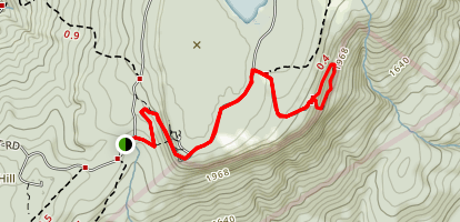 Sam's Point Overlook to Ice Cave Loop Map