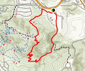 Copper Creek Loop Map