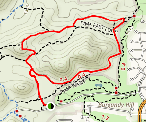 Pima East Loop Map