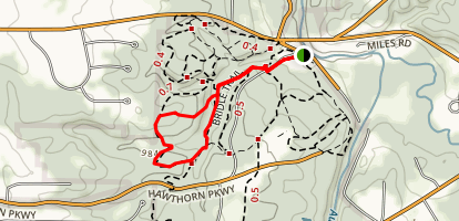Sulphur Springs Loop and Bridle Trail Map