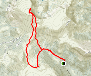 Bennett Peak and Windy Point Map