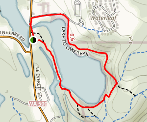 Round Lake Short Loop Map