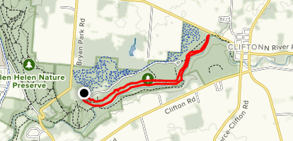 Clifton Gorge Loop Map