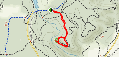 White Pine Loop Trail Map